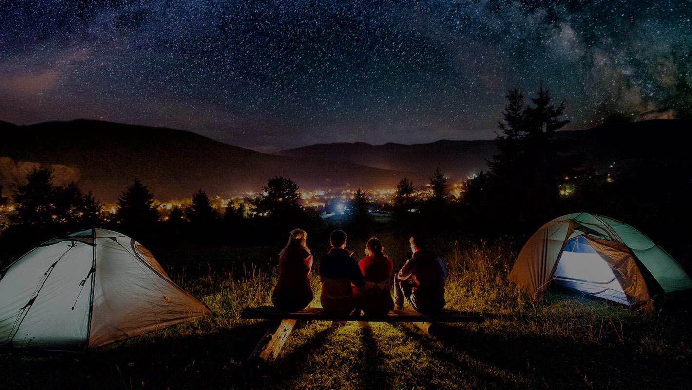 Partir en vacances au camping
